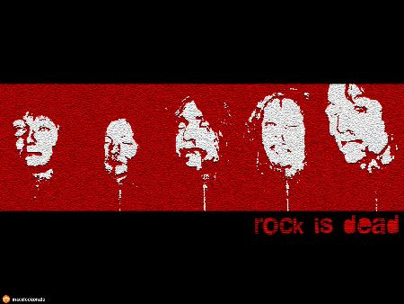 Desktop-Wallpaper-Thumbnail: Rock is Dead